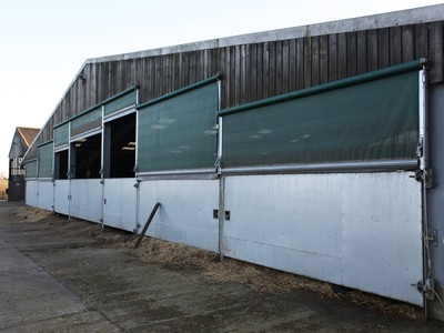Custom Cattle Barn